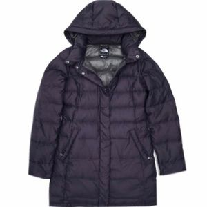 The North Face Eggplant Purple Down Parka Jacket